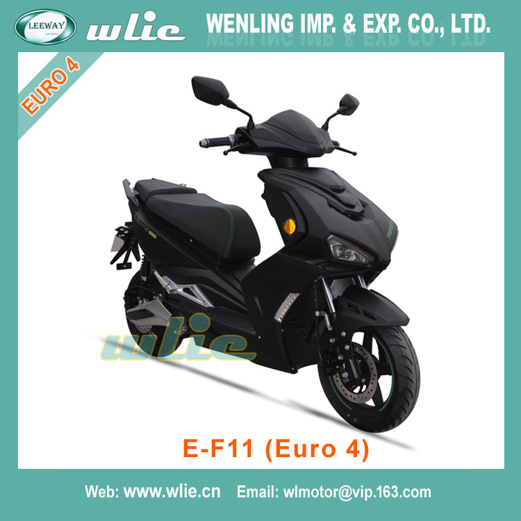 Euro-4 EEC approved 3000w electric scooter E-F11(Euro 4)