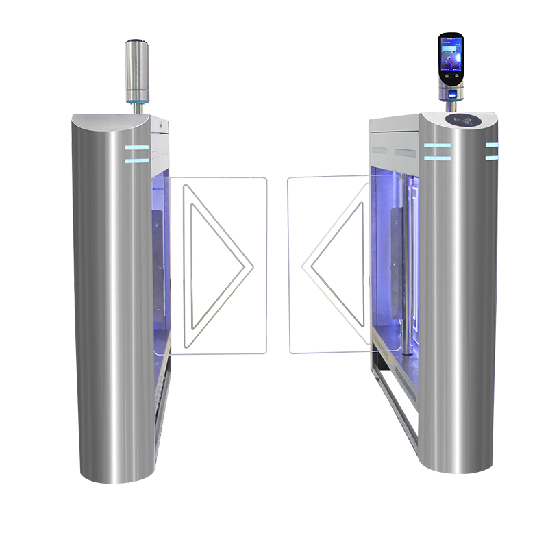Attendance System LED security swing gate with CE RoHS