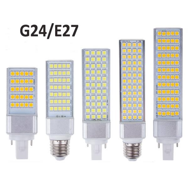 E27 LED Plug Light PL Light