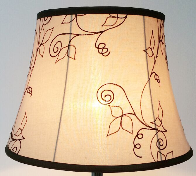 designer empire softback lamp shade