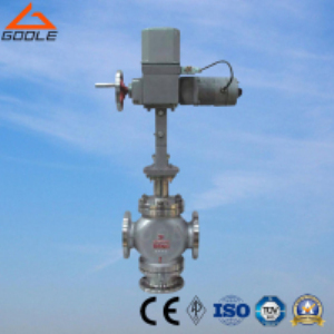 ZDLQ Electric Actuated Three Way Mixing Control Valve