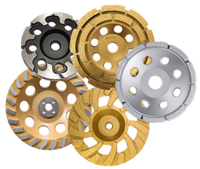 silver brazed grinding cup wheels
