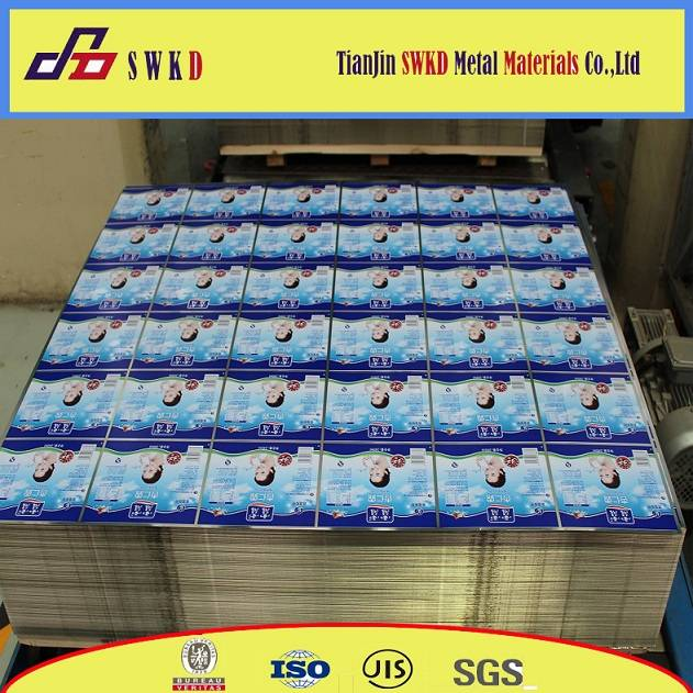 SWKD KBA 8 color printing steel tinplate