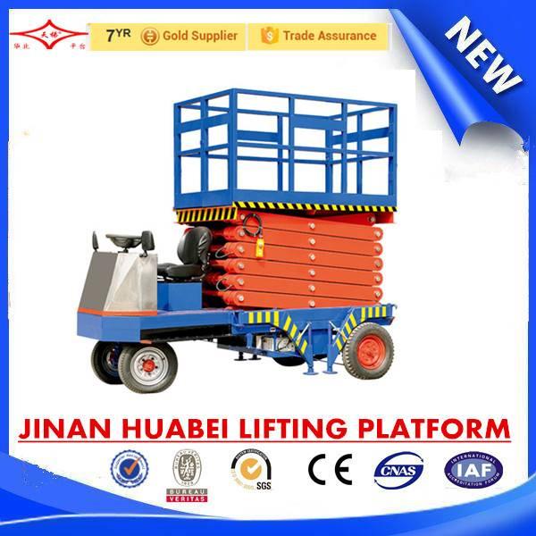 self propelled hydraulic scissor lift platform