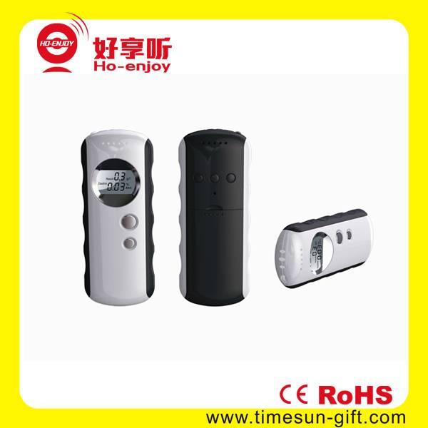 portable digital display breathalyser alcohol tester