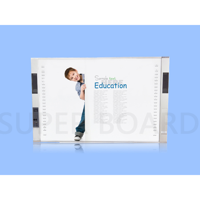Super Board All-in-One Interactive Whiteboard with visual presenter and Projector