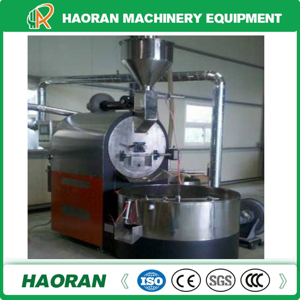 30kg /Batch Coffee Roaster with Gas Heating