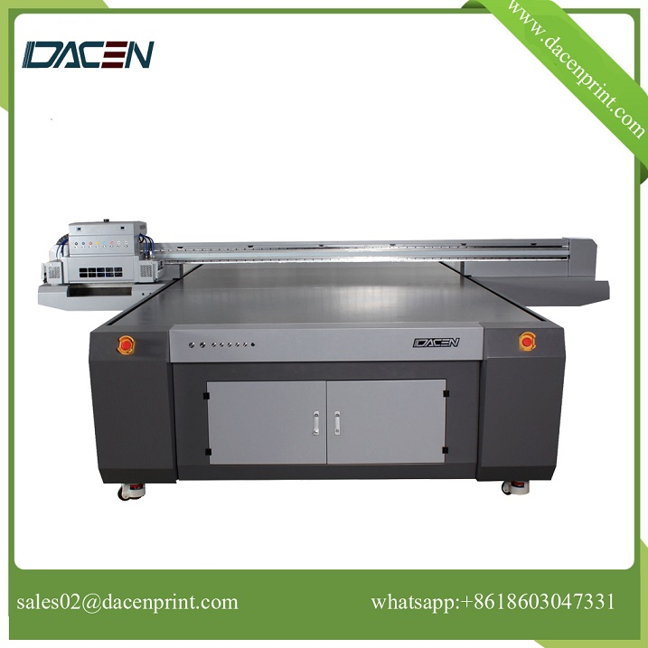 High speed digital glass printer with anti-collision system