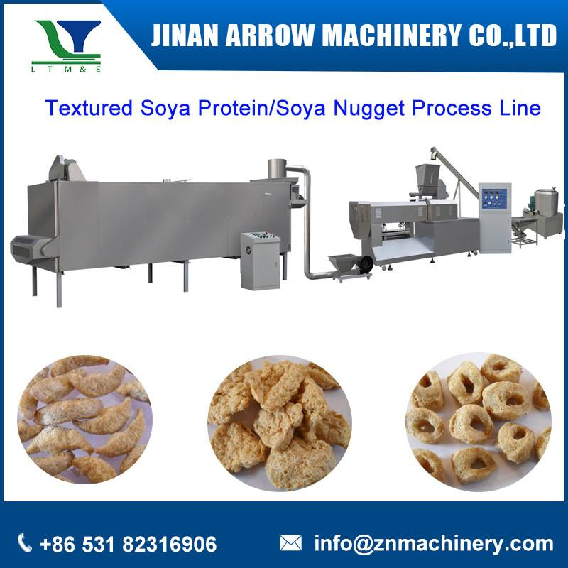 Texured soya protein process line