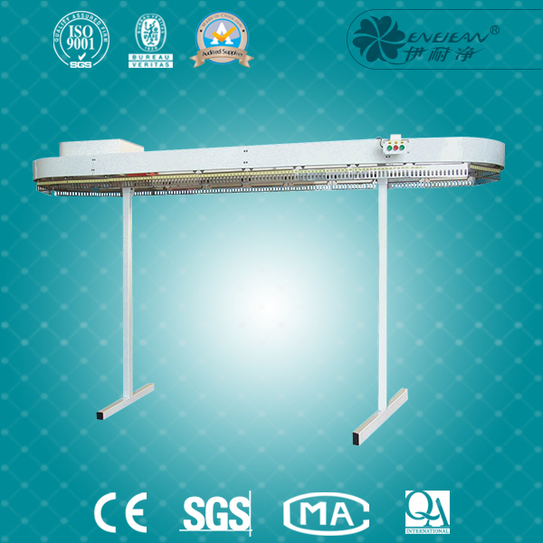more types shaped garment conveyor line