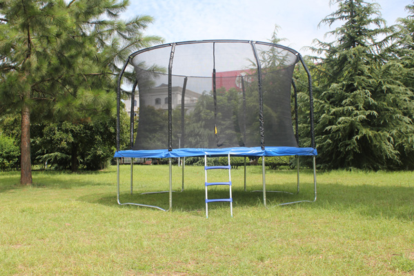hot sell 12FT round trampoline with basketball hoop for kid