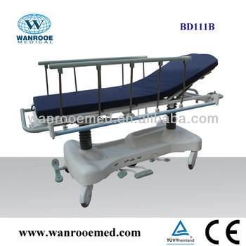 BD111B Hydraulic Hospital Trolley with double oil pump