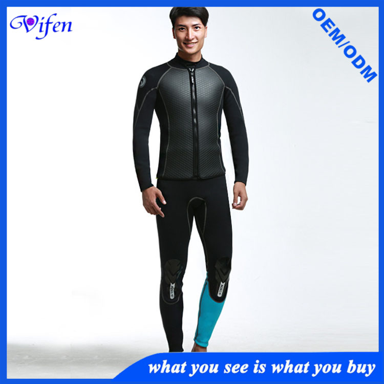 hot selling mens jacket swimwear diving suit high level material manufacturer