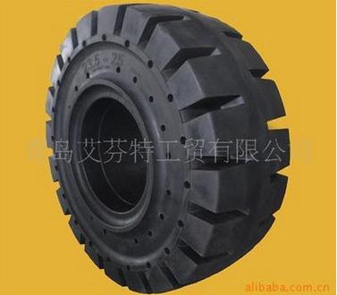 Forklift Solid Tyre10.00-20 1600-25 Forklift Solid Tires, Trailer Tire