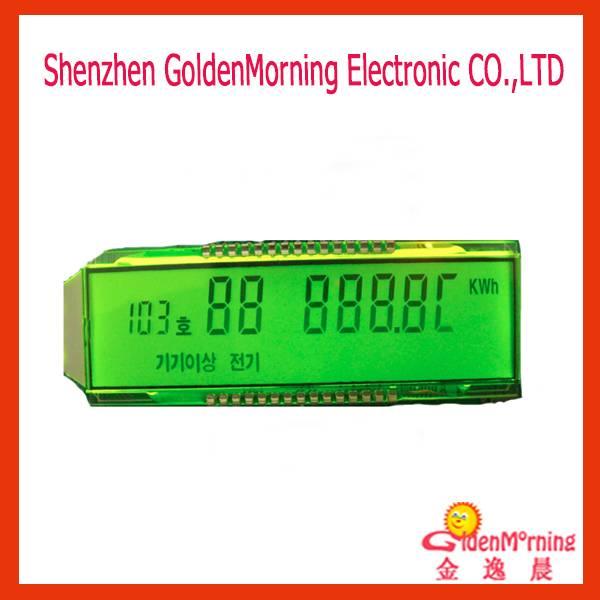 7 Segment LCD display TN/Positive/Transflective