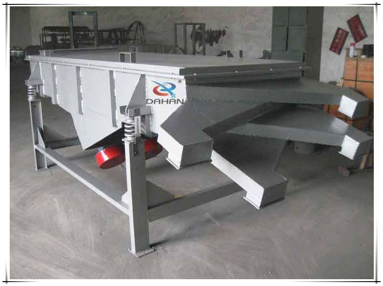 wood pellet screening and grading linear vibration sieve machine