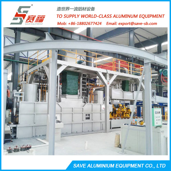 aluminium extrusion air and water-cooling system