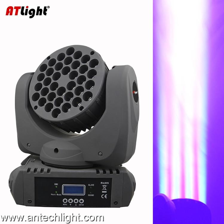 RGBW 363 LED Moving Head Wash Light ATM108