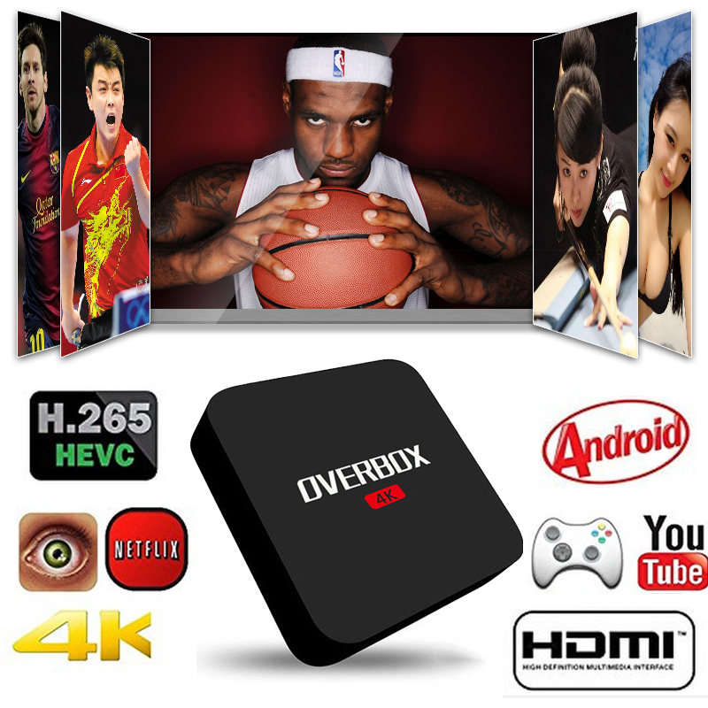 OVERBOX A1X OTT TV BOX s905x 4k ott tv box android 6.0 tv box