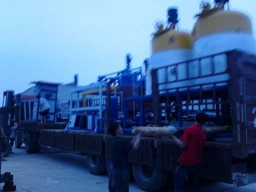 The high pressure PU foaming machine/equipment