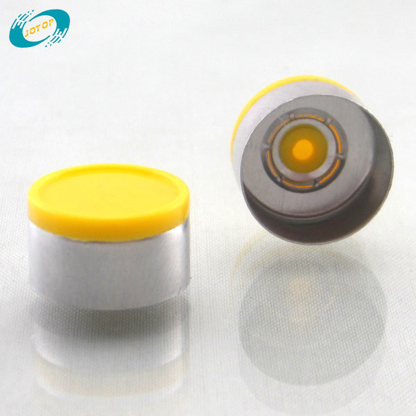 13mm 20mm Flip off Seal Cap with Flush Disc