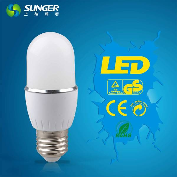 new well selling E27 T45 5W led bulb light with CE RoHS