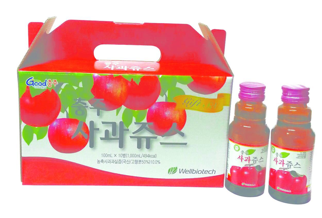 100ml Chungju Fresh Apple Nectar Juice