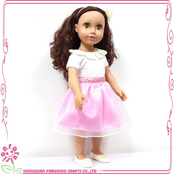 New design 18 inch promotional doll Newest vinyl dolls