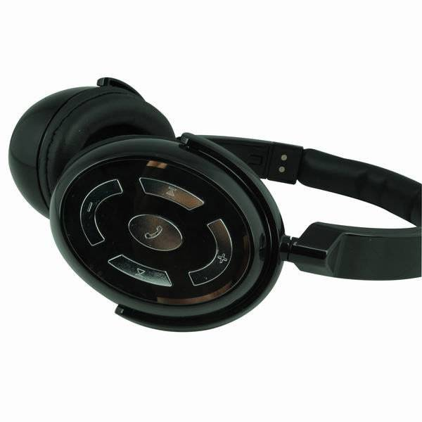 China New Bluetooth Stereo Headset Headphone Mic For iPhone Samsung Cellphone Blu