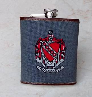 5oz Stainless Steel Needlepoint Flasks