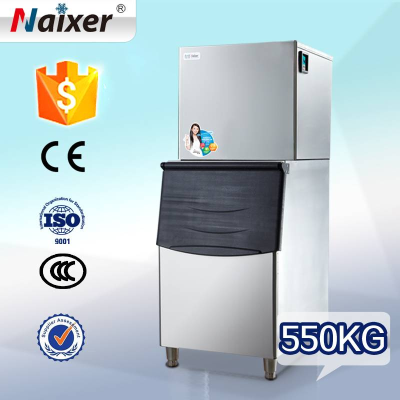 Naixer automatic commercial fishing boat ice machine