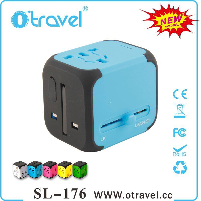 2015 Otravel New Arrival universal travel adapter with worldwide plugs