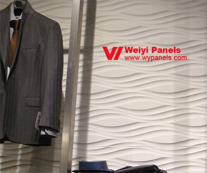 Textured Wall Panels- MDF Wave Boards WY-018