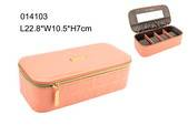 fashion PU leather jewelry box from AVON supplier