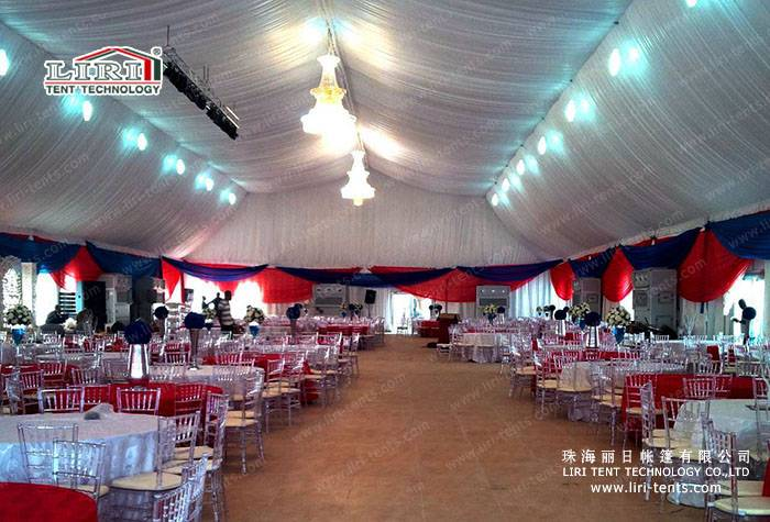 20X20m Clear Span Reception dining Tent for Party and Wedding
