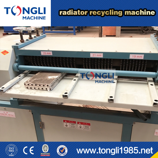Radiator Recycling Machine For copper and aluminum separating machine