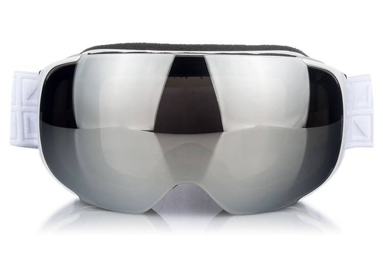 high qualified magnetic interchangeable lens ski goggles