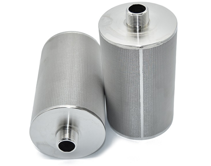 Porous Stainless Steel Metal Sintered microporous Filter candle element