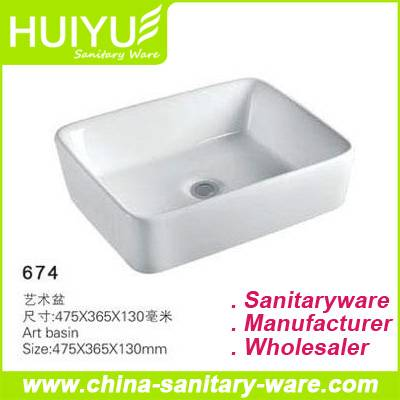 Ceramic Bathroom Art Wash Basin Price