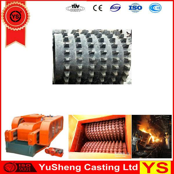 Roll Crusher Parts, Roll Crusher Spare Parts, High Manganese Steel Roll Crusher Spare Parts
