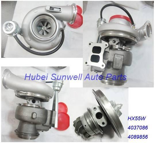 Cummins QSM11 turbo 4037086 Holset HX55W turbo charger 4089856