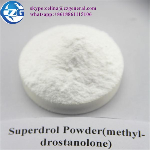 High quality USP GMP Superdrol Powder (methyl-drostanolone)