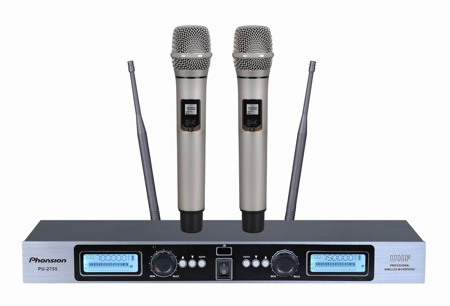 PU-2755 digital UHF wireless microphone
