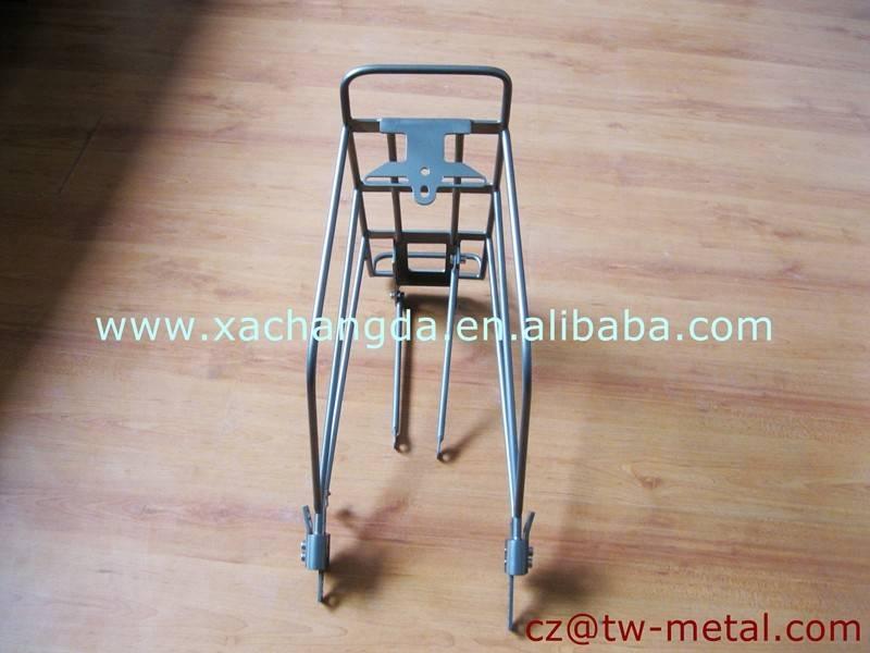 Customized Titanium bicycle rear rack Ti bike luggage carrier for MTB bike