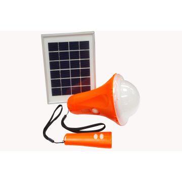 Solar outdoor portable camping light