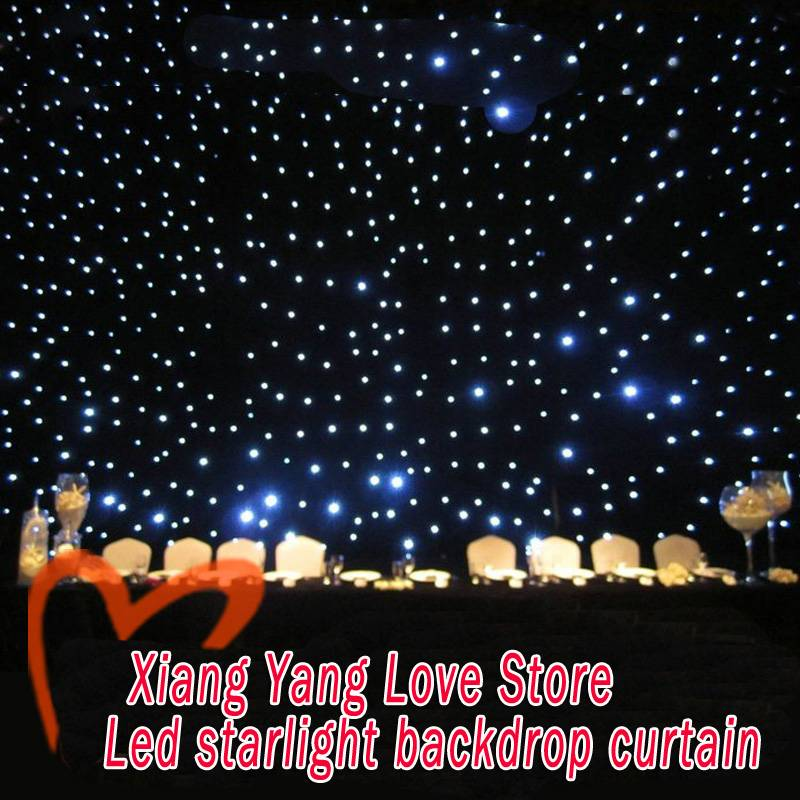 starlight backdrop curtains