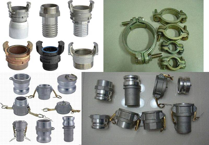 Spare parts for Cam and groove coupling