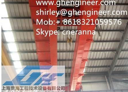 Electric Dual Beam Bridge Crane