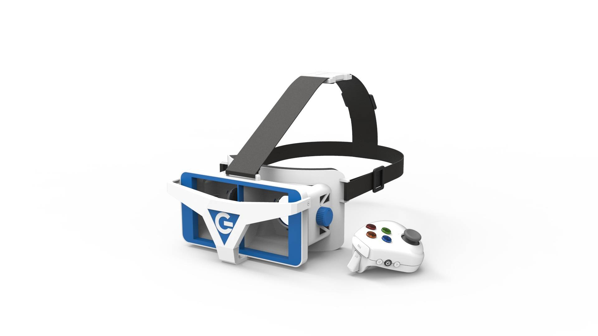 Newest vr glasses 3D vr headset display with immersive technology for vr games and entertainment wit