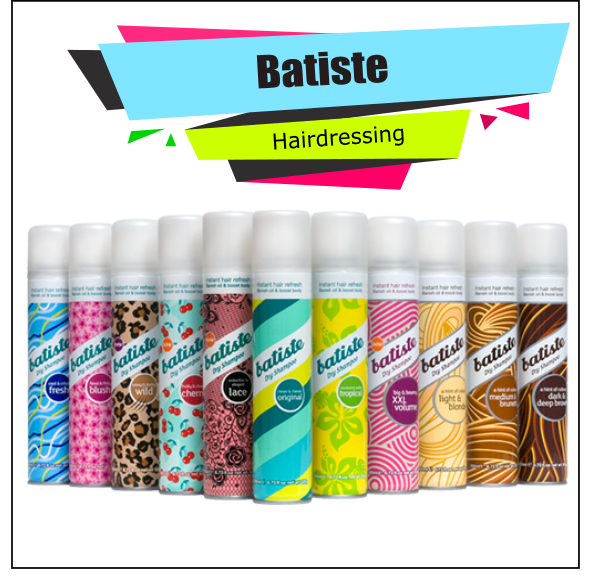 Batiste - Dry Shampoo Cosmetics
